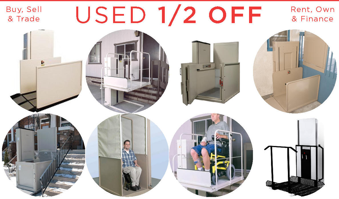 Phoenix   Rent Used  Wheelchair Elevator Vertical Platform Porch Lift