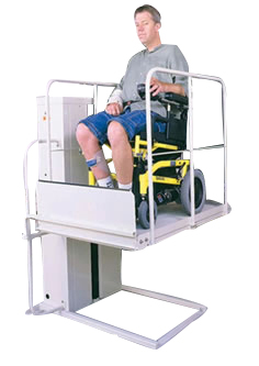 totally reconditioned wheelchair porch elevators vpl vertical platform porchlifts macslift mobile home wheelchair lifters